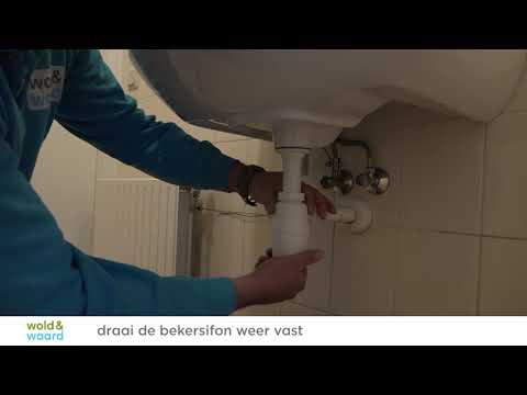 Wold & Waard geeft woontips: zelf uw wastafel ontstoppen