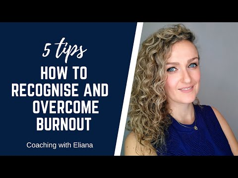 No-one is immune to burnout. However, we may not be aware on how to recognise what causes it and its symptoms. If left untreated it can have a serious effect psychologically and physically.   In this video I share 5 tips on how to overcome burnout.