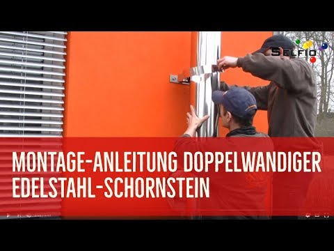 Montage-Anleitung: Edelstahl-Schornstein nachrüsten - ideal für Selberbauer
