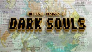The Evolution of Dark Souls Level Design (and Bloodborne!)