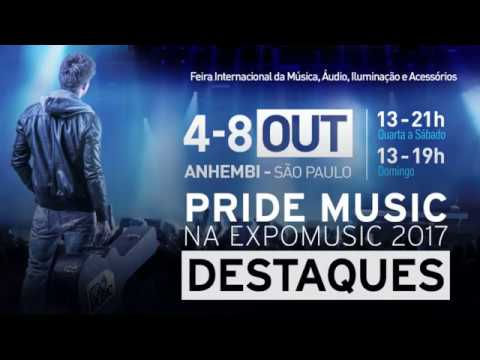 PRIDE MUSIC - DESTAQUES - EXPOMUSIC 2017
