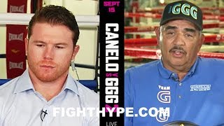 """GOLOVKIN TRAINIER SANCHEZ WARNS CANELO ABOUT TRAINING IN MEXICO AGAIN; WANTS NO """"MISTAKE"""""""