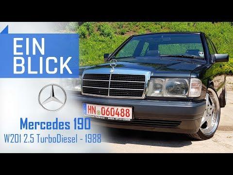Mercedes Benz 190 (W201) 2.5 TurboDiesel 1988 - wie reagiert ein 190er auf viel Ladedruck?