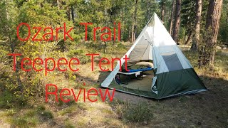 promo code 08140 26077 Ozark Trail 7 Person Teepee Tent Review - Free video search ...