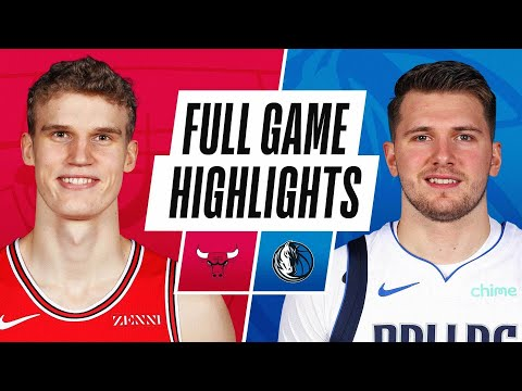 Dallas Mavericks vs Chicago Bulls</a> 2021-01-17