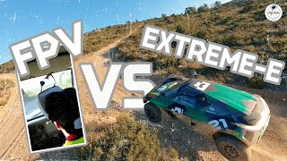 Racing Drone vs Extreme-E | Behind the Scenes