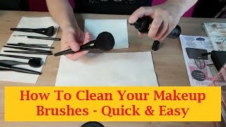 👉 How To Clean Makeup Brushes With Mary Kay Brush Cleaner - Quick 📍 Easy 📍 Cheap!
