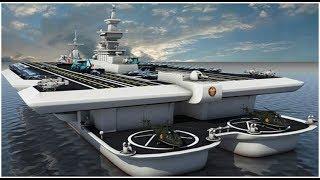 """中国正在秘密研究一海上""""神兽""""!排水量相当于10艘航母"""