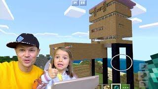 КАТЯ НЕ НУБ в Minecraft