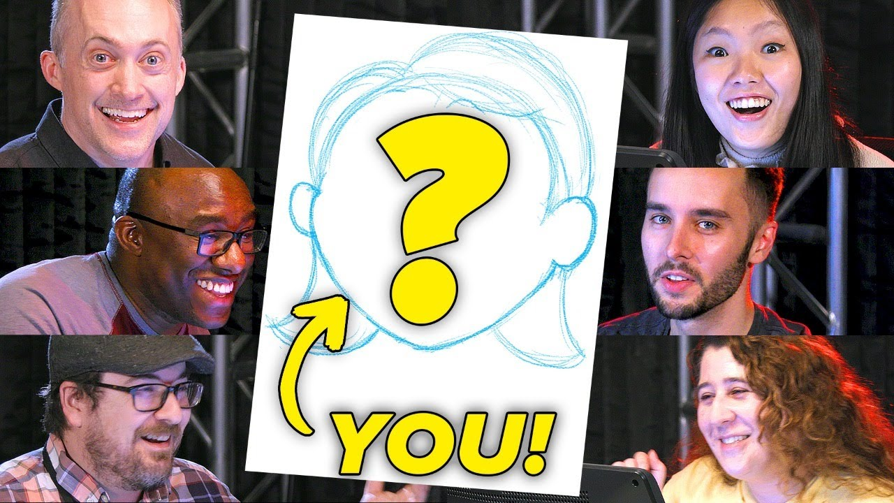 We Draw Your Profile Pictures • Live Stream thumbnail