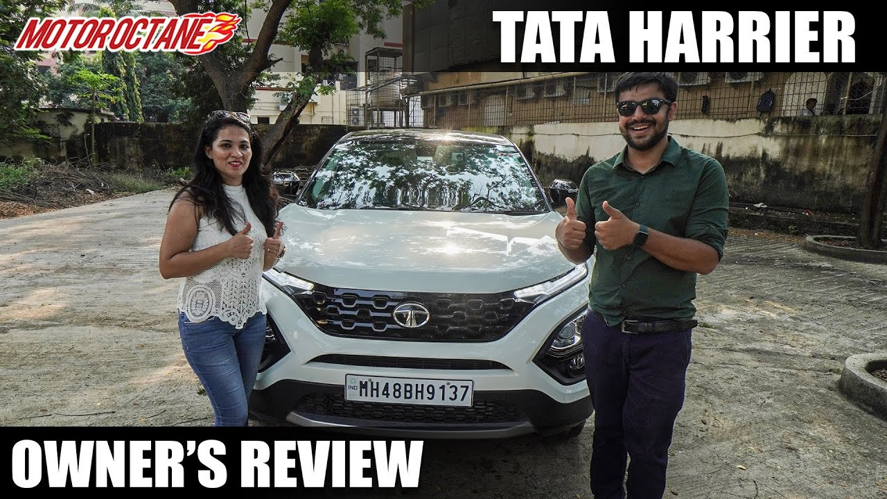 Motoroctane Youtube Video - Tata Harrier Owner's Review - Owner shares her experience
