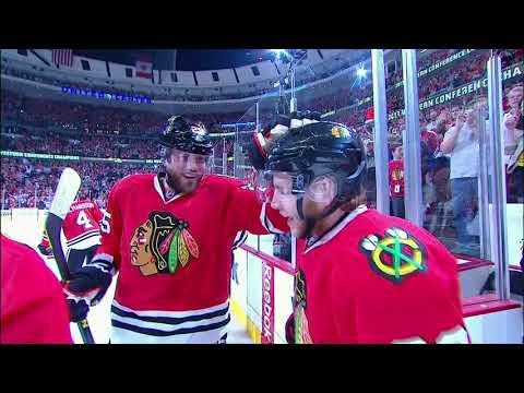 Last 25 Years Of NHL Playoffs OT Goals: Chicago Blackhawks