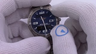 The Watch I Always Wanted - Achieved! Breitling Aerospace Titanium Watch