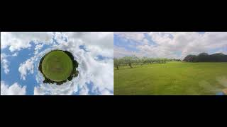 Chasing Drones FPV Freestyle Insta 360 One 1 and Insta 360 Go!