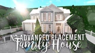 Roblox | Bloxburg: No Advanced Placement Family House | House Build