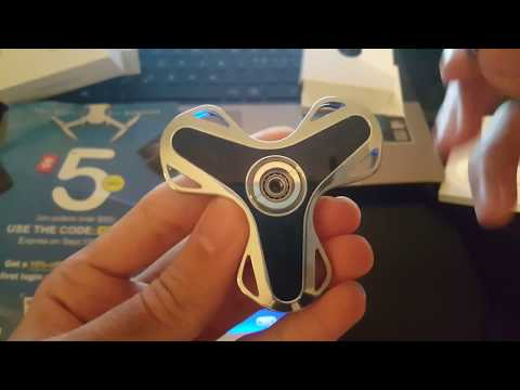 AITURE APP Control Fidget Spinner Bluetooth Chargeable LED Hand Spinner Gadgets