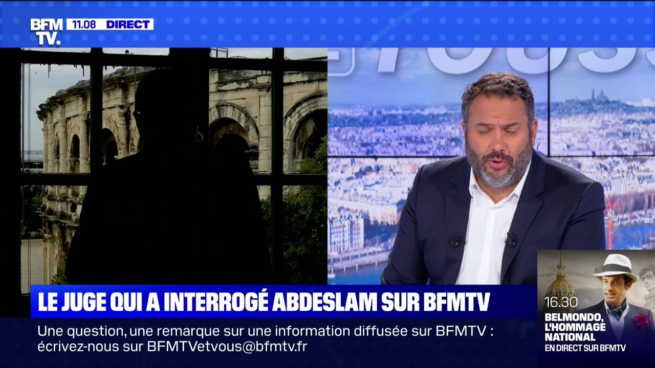 Christophe Teissier, ancien juge antiterroriste qui a interrogé Salah Abdeslam est l'invité de BFMTV