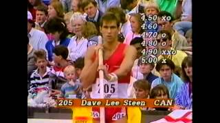 Commonwealth 1986 - Edinburgh- Pole Vault Dave Steen 5m00