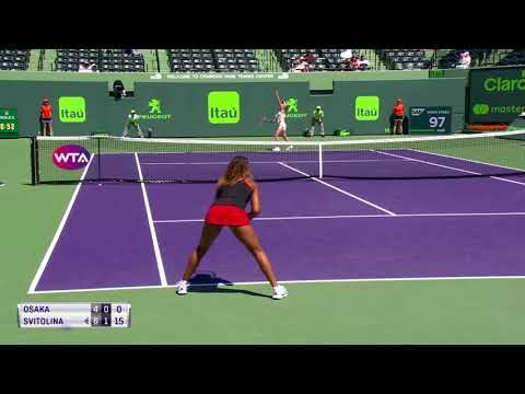 Naomi Osaka vs Elina Svitolina - Miami R2 Highlights HD