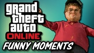 GTA 5 Online Funny Moments #2 - MERICA, Trailer Glitch, AC-130 Fun   (GTA Online Gameplay)