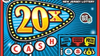 20X Cash Instant Lottery Ticket Jackpot!