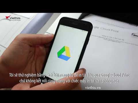 Hướng dẫn in tài liệu với smartphone khi bạn không ở văn phòng