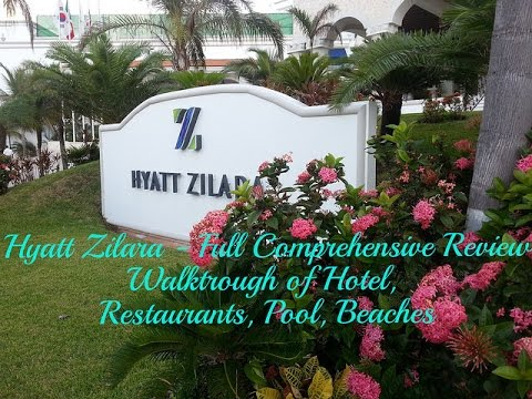 Touring Hyatt Zilara Cancun  – Full Comprehesive Review – Hotel Walkaround