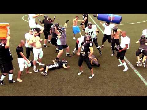 Jogadores do Corinthians Steamrollers caem no Harlem Shake