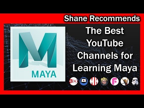 The 7 BEST YouTube Channels for Learning MAYA