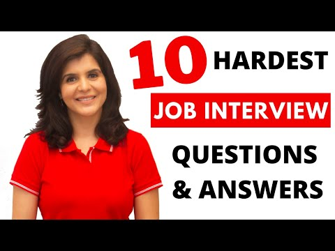 10 Common Interview Questions and Answers in English | Job Interview Tips | ChetChat English