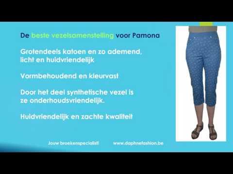 De Pamona broek - 3/4 lengte - Raphaela by Brax - Broekenspecialist - Daphne Fashion