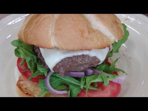 Basic Beef Burger – Recipe by Laura Vitale – Laura in the Kitchen Episode 176