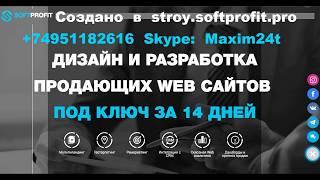 Продвижение Сайта +74951182616 Москва SEO Раскрутка Оптимизация Разработка Сайта Интернет Продвижение Создание от компании SoftProfit - видео 1