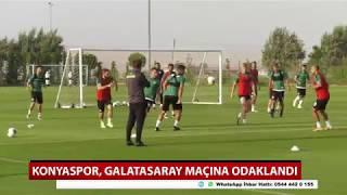 Konyaspor, Galatasaray maçına odaklandı