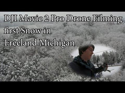 dji-mavic-pro-2-drone-filming-the-first-snow-in-freeland-michigan-2018