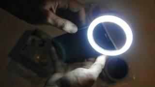 """Светодиодное кольцо для селфи от компании """"Магазин Все, Что Нужно"""" - видео"""