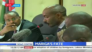 IEBC holds a meeting with Jubilee Kibra aspirant Mariga's case