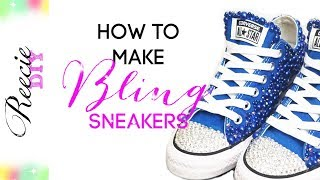How To Make Bling Shoes