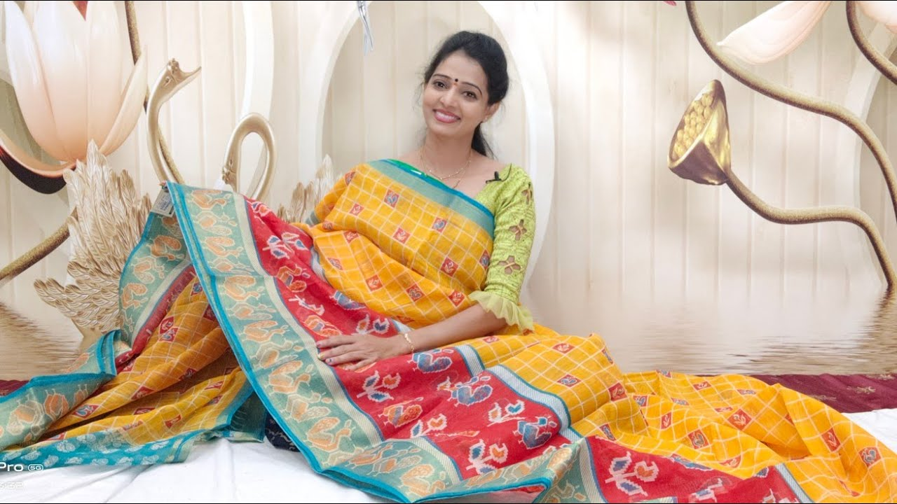 "<p style=""color: red"">Video : </p>చెందేరి ప్రింటెడ్ /chendheri printed@9000681234@Geethakrishna@vanasthalipuram  kothapet  KPHB 2021-01-20"