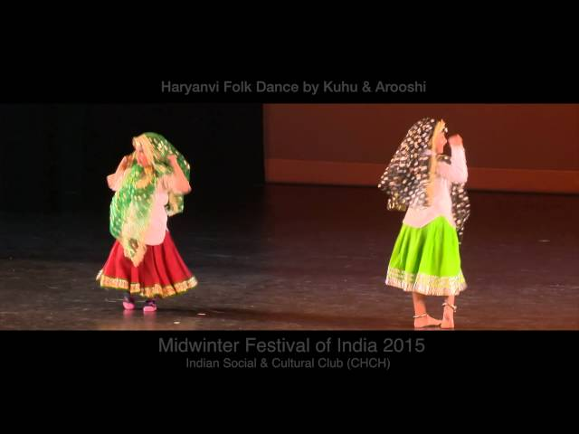 Haryanvi Folk Dance By Kuhu Arooshi