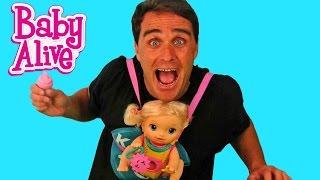 Baby Alive Baby Go Bye Bye ! || Toy Review || Konas2002