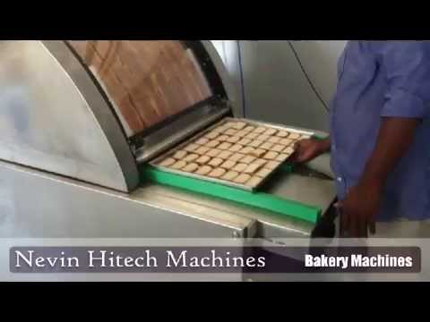 Rusk Laying Machine