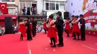 dr tevfik sağlam ilkokulu 3a sinifi tango gösterisi