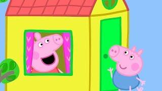 Peppa Pig Świnka Peppa po Polsku | Domek na drzewie | Bajki Po Polsku