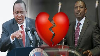 🔥ANGRY RUTO🔥 tells UHURU you CANNOT USE and DUMP Me in 2022.
