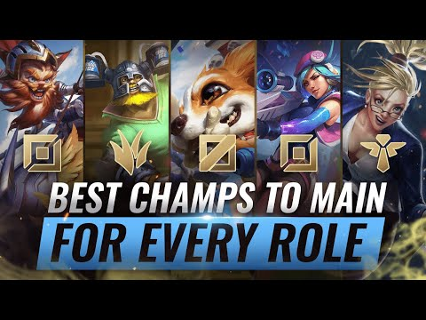 Download 3 BEST Champions To MAIN For EVERY ROLE in Season 10 - League of Legends Mp4 HD Video and MP3