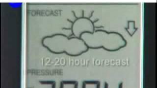 La Crosse Weather Station WS-7394  Wireless Forecast Station