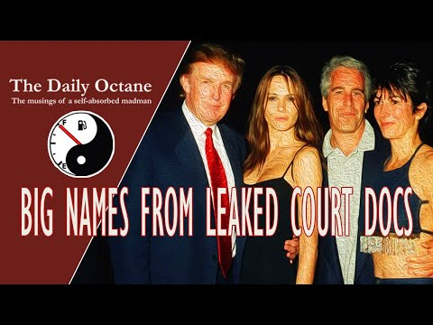 Big Names in Leaked Epstein Sex Trafficking Case Court Documents