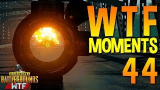 PUBG WTF Funny Moments Highlights Ep 44 (playerunknown