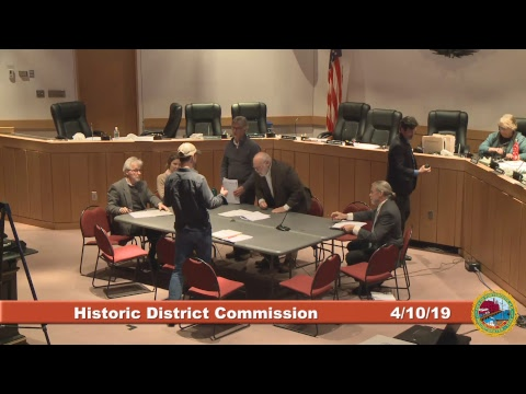 Historic District Commission 4.10.19